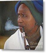 Xhosa Woman Metal Print