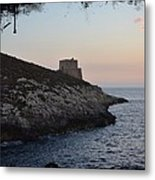 Xlendi At Sunset Metal Print