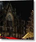 Xmas In Cologne Metal Print