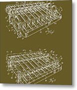 Xylophone Patent 1949 Metal Print