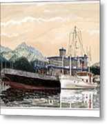 Alaskan Sunrise Metal Print