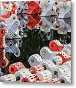 Yacht Club Buoys 4 Metal Print