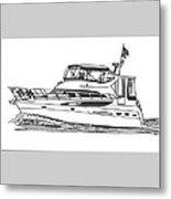 Yachting Good Times Metal Print