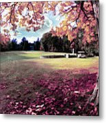 Yaddo Tree Metal Print