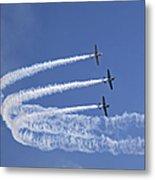 Yaks Aerobatics Team Metal Print