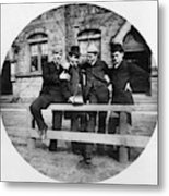 Yale Students, C1890 Metal Print