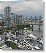 Vancouver From Yale Town Metal Print