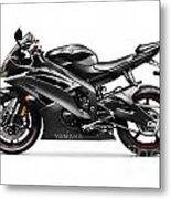 Yamaha R6 Supersport Motorcycle Metal Print