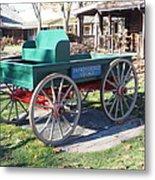 Yankee Candle Cart Metal Print