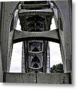 Yaquina Bay Bridge - Series C Metal Print