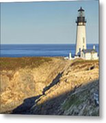 Yaquina Head Lighthouse 4 G Metal Print