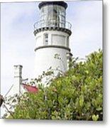 Haceta Head Lighthouse 7 Metal Print