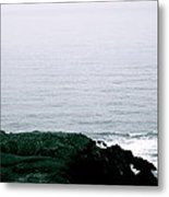 Yaquina Shores Metal Print by Sheldon Blackwell