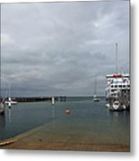 Yarmouth Harbour From The Slipway Metal Print