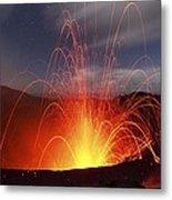Yasur Volcano, Vanuatu Metal Print
