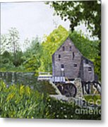 Yates Mill Summer Metal Print