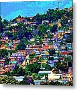 Yauco On The Hill Metal Print