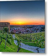 Yburg Sunset Metal Print