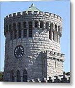 Ye Old Castle Clock Tower Metal Print