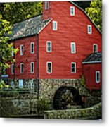 Ye Old Red Mill Metal Print by Wayne Gill