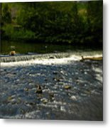 Ye Olde River Wye Metal Print