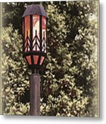 Ye Olde Street Lamp Metal Print