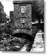 Ye Olde Toll Bridge Metal Print