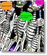 Year Of The Dead Metal Print by Joe Jake Pratt