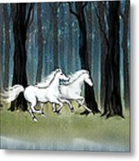 Year Of The Wood Horse Metal Print