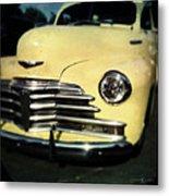 Yellow 47 Chevrolet Metal Print