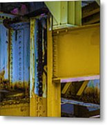 Yellow Beams Versiontwo Metal Print
