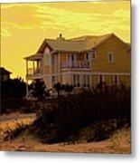 Yellow Beauty At Isle Of Palms Metal Print