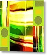 Yellow Bliss Metal Print