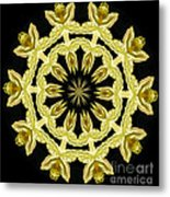 Yellow Fantasy Metal Print
