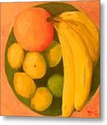 Yellow Fruit No2 Metal Print