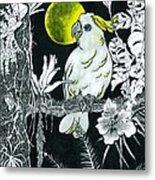 Yellow Moon  Metal Print