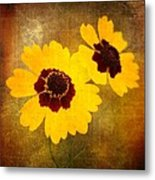 Yellow Prize Metal Print