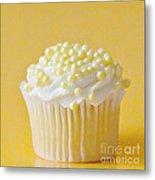 Yellow Sprinkles Metal Print