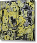 Yellow Trip Metal Print