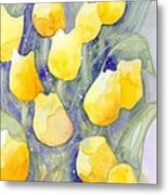Yellow Tulips 1 Metal Print