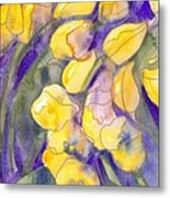 Yellow Tulips 3 Metal Print