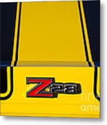 Yellow Z28 Metal Print