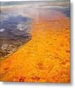 Yellowstone - The Elements Metal Print