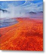 Yellowstone Basin Metal Print