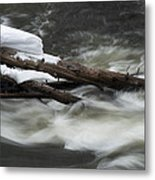 Yellowstone Falls Metal Print by David Yack