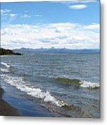 Yellowstone Lake Metal Print