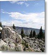 Yellowstone N P Landscape Metal Print