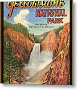 Yellowstone Park Metal Print