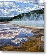 Yellowstone - Springs Metal Print