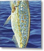 Yellowtail On The Menu Metal Print